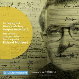 CD Cover mit Richard Mohaupt