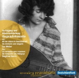 CD Cover mit Ilse Weber
